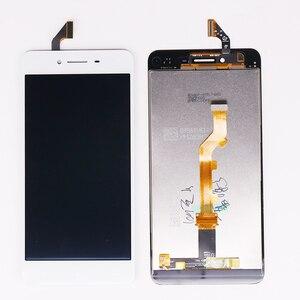 Image 4 - Originale 5.0 pollici Per Oppo A37 LCD Display Touch Screen Digitizer Assembly Mobile Accessori Nero Bianco Nero con i regali