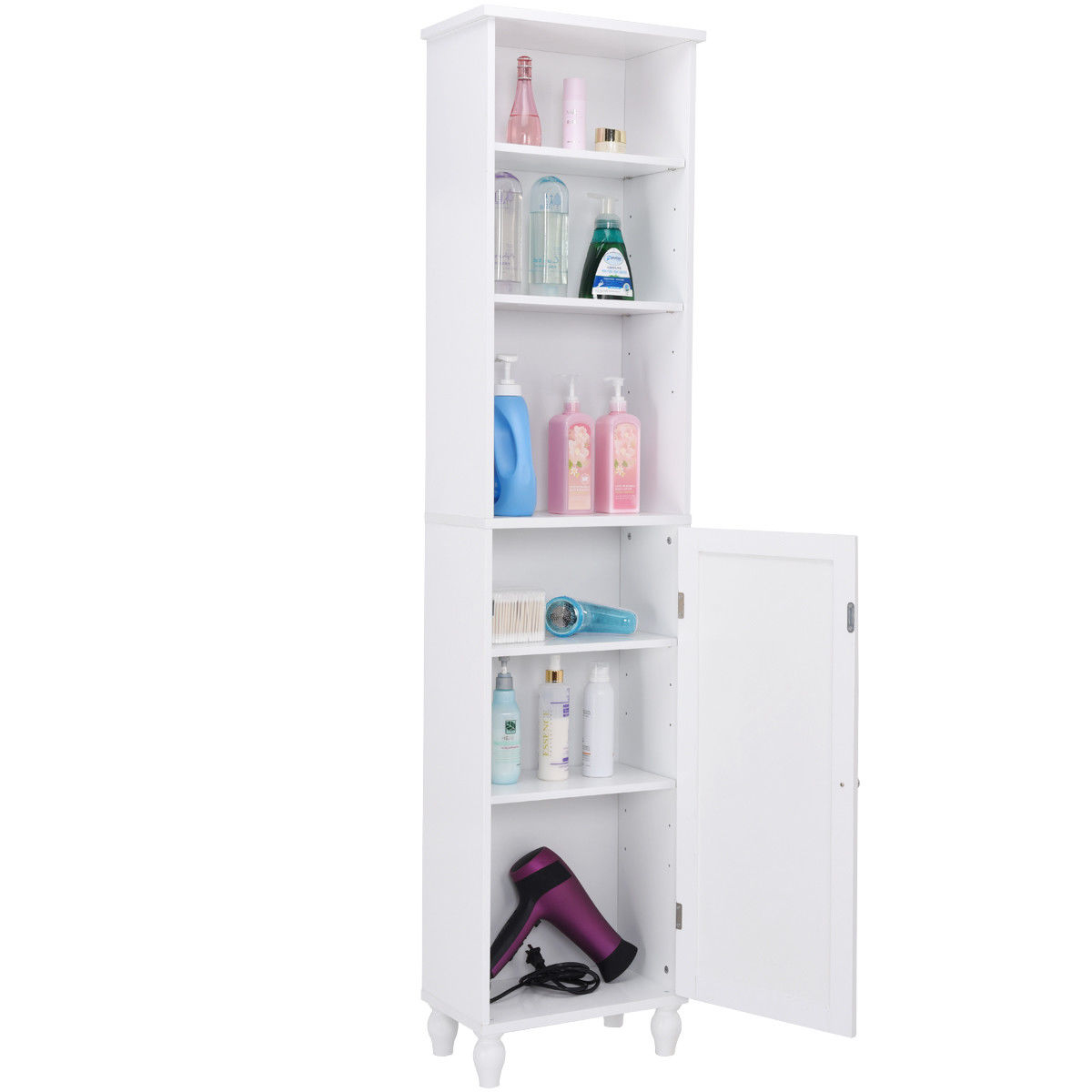 Giantex Bathroom Storage Cabinet Modern