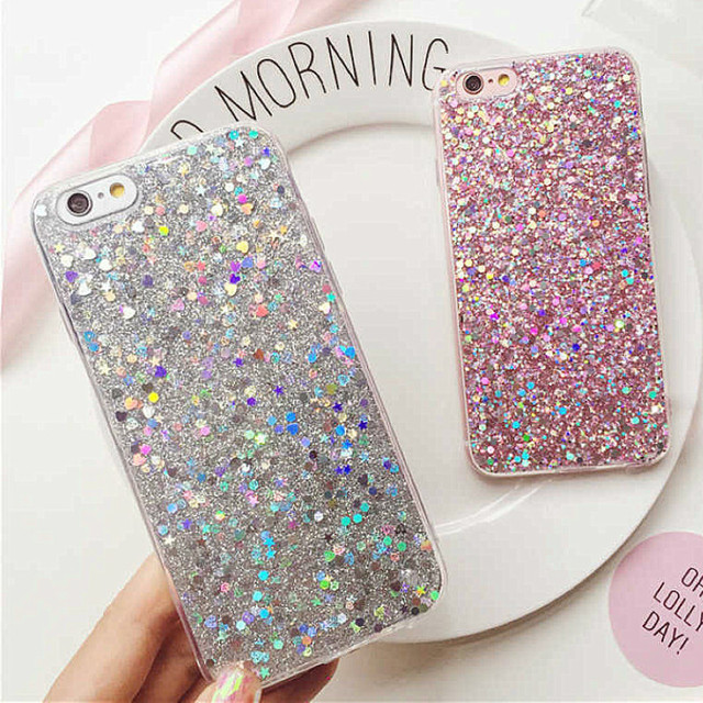 Luxury Shinning Glitter Cases For iphone 6 6S 8 Plus X 5SE 5 5S