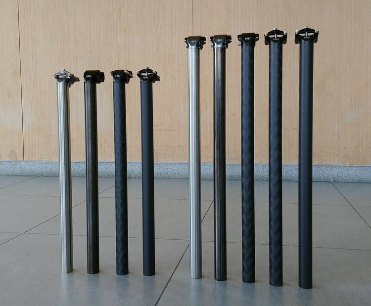 H H Seat Post Titanium Carbon for brompton seatpost 520mm