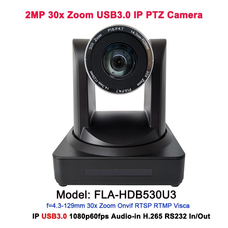 Full HD IP USB3.0 1080 P 30x Zoom optique vidéo système de conférence en ligne pour salle de réunion