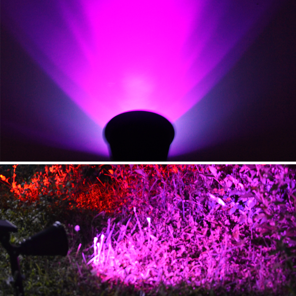 T SUN In Ground IP65 Solar Powered Spotlight with 4 to7 LEDs and Rechargeable Lithium Battery 38