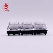 цена на Kailh Box Switch Input Club Hako White Mechanical Keyboard Switch Waterproof and dustproof Soft tactile Type 85gf black base