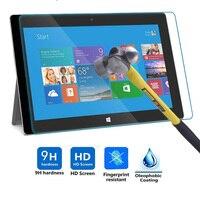 """9 H Premium przeciwwybuchowe szkło hartowane ekran Protector Anti Scratch folia dla Microsoft Surface Pro 4 Pro4 1724 12.3 """"Tablet w Ochraniacze ekranu do tabletów od Komputer i biuro na"""