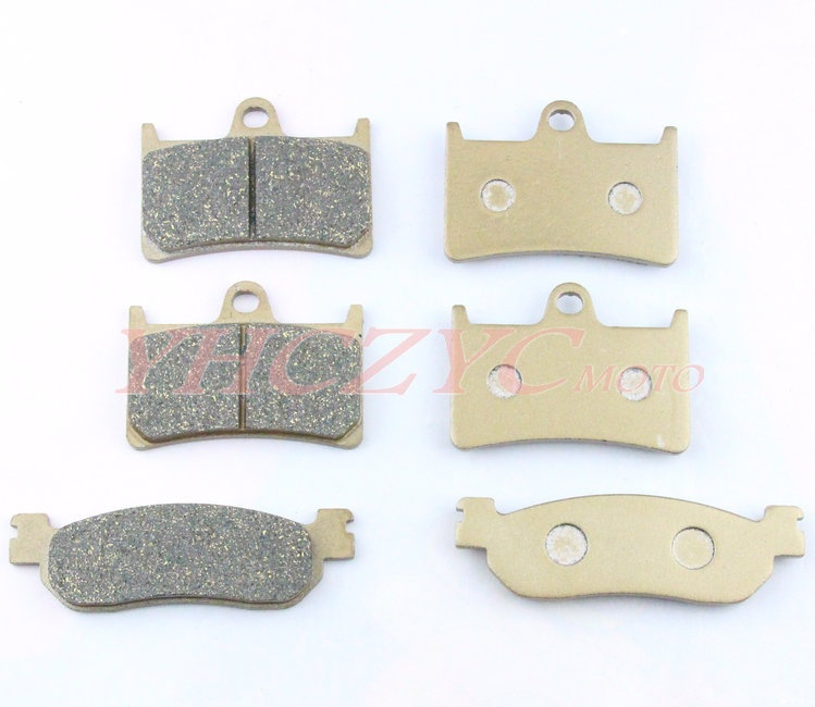 For YAMAHA YZF R6 99-02 YZF R1 02-03 motorcycle front and rear brake pads set Motorcycle Parts motorcycle parts front