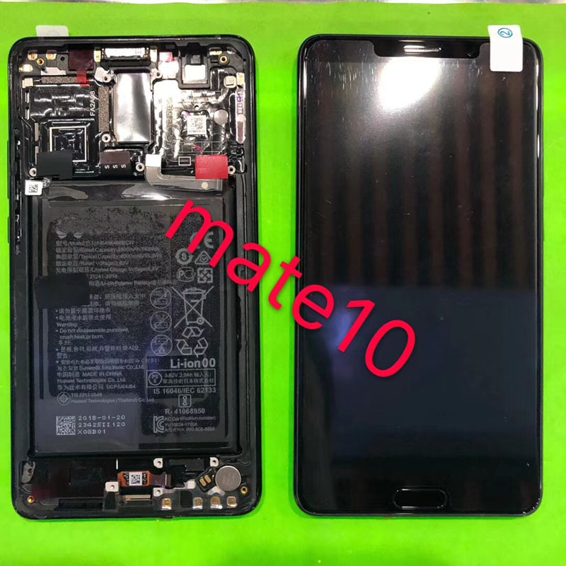 100 Tested 2560x1440 5 9 For Huawei Mate 10 LCD Display Touch Screen Digitizer Assembly Mate10
