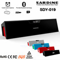 Sardine mini Bluetooth Speaker Portable Wireless Speakers Sound System 3D Stereo Music Surround Support  FM Radio TF AUX USB