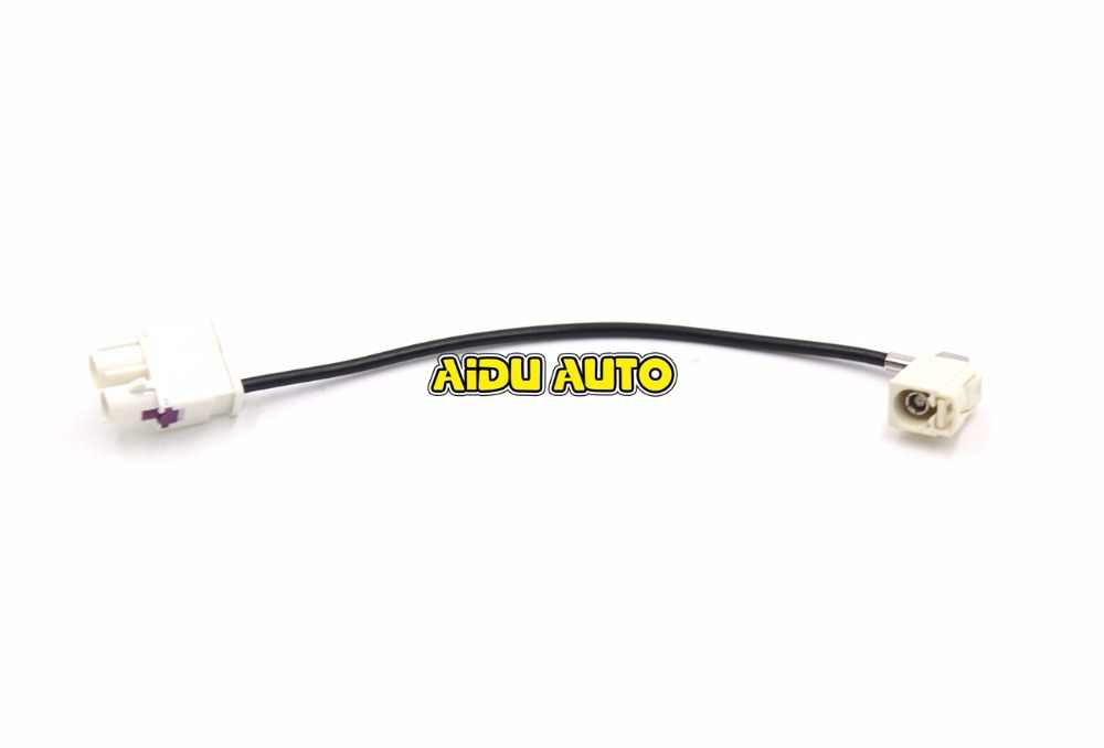 FOR VW Car Radio RCN210 RCD330 RCD330 G FAKRA Antenna Adapter Radio 2 To 1  MFD 187A 187B