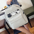Новые женские Холст Рюкзаки Повседневные Рюкзаки Студент Школьные Сумки Для Девушки мальчик Случайные Дорожные сумки Mochila XD3781