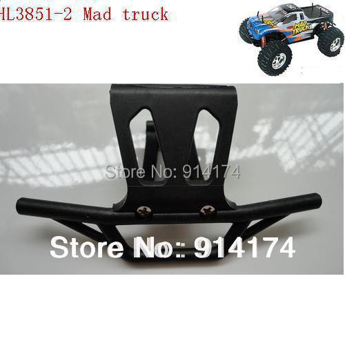 2pcs/lot  HengLong HL3851-2 1:10 RC Mad Truck  parts No 71 Front Bumper