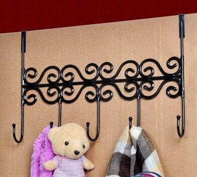 Fer artisanat crochet mural MAX 30kgs patères cabides ganchos para colgar ropa décoration de la maison classe crochet décor 3 couleurs disponibles