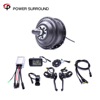 Waterproof Electric 36v350w Front/rear Bike Conversion Kit Brushless Hub Motor wheel bicycle With Ebike System