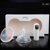 7 Frecuencia de Vibración de Rotación Estimuladores Pezón Dispositivo de Vibración Masajeador de Mama, Juguetes para adultos para las Mujeres
