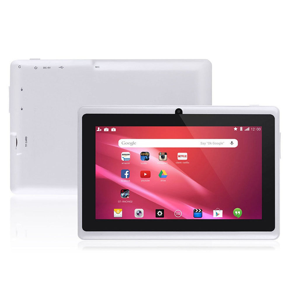 "7"" Tablet PC Quad Core Google Android 4.4 KitKat WIFI 8GB Dual Camera HD Tablet+32GBTF"