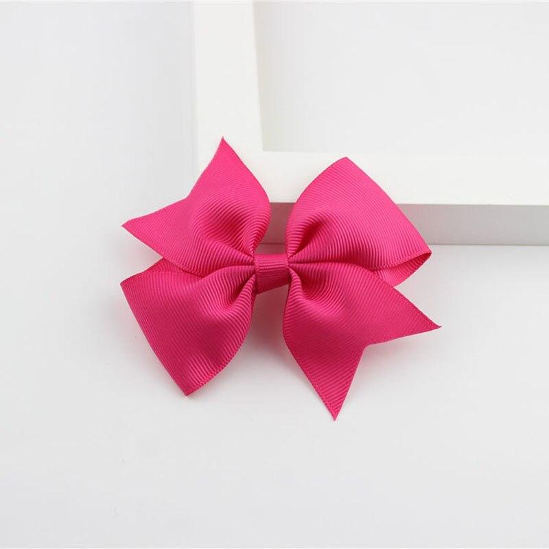 Новые модные маленькие заколки для волос для маленьких девочек, милые заколки для волос карамельного цвета с цветком, детские заколки, аксессуары для волос - Цвет: a13 Deep Rose