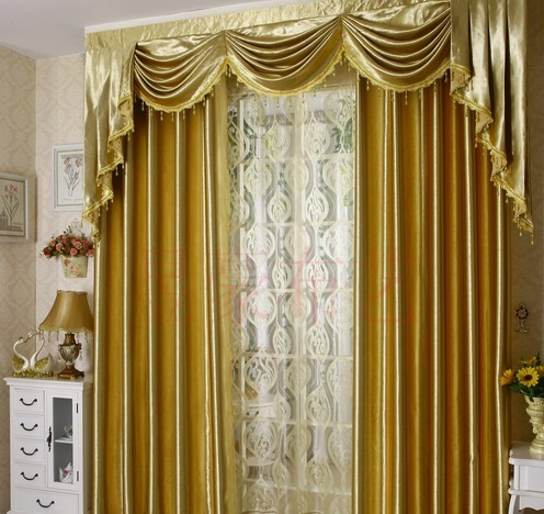 Curtains drape bedroom purdah living room blind modern fabric ...