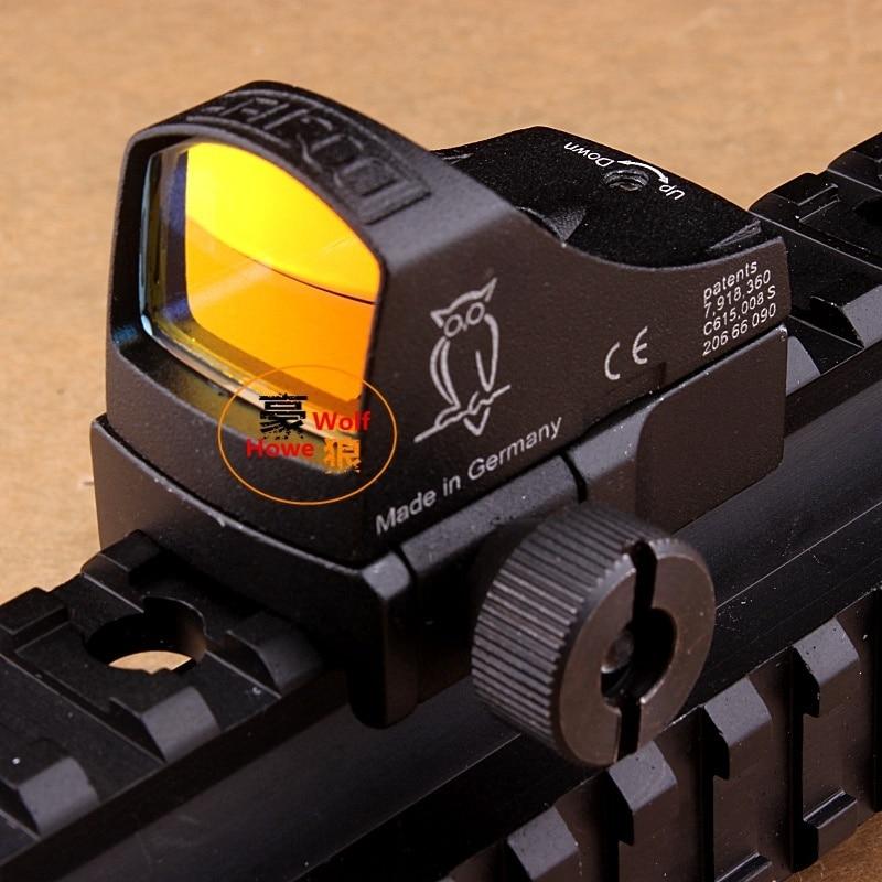 Jagd Docter Anblick     Taktische Red Dot Zielfernrohr Reflex Holographische Dot Anblick Auto Helligkeit Laser Anblick-bereich Für Airsoft