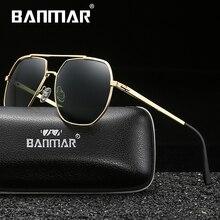 BANMAR New Brand Polarized Sunglasses Men Fashion Sun Glasses For Travel Driving Male Eyewear Oculos Shades Women
