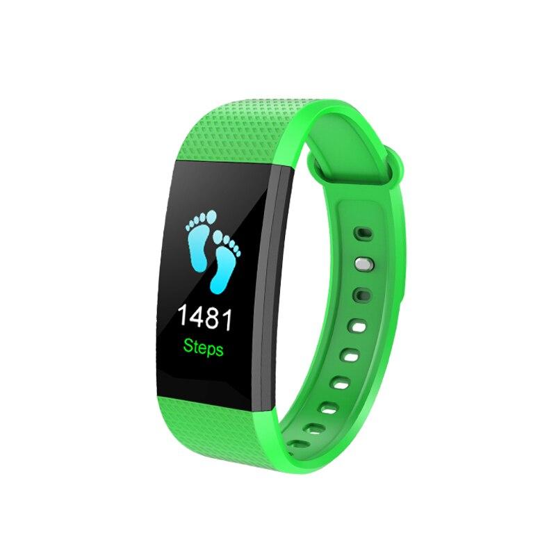 OGEDA Sport Bracelet Smart Watch Women Men Bluetooth Clock Heart Rate Sleep Monitor Pedometer Fitness watch Color screen Girls