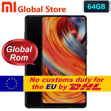 Original Xiaomi Mi MIX 2 MIX2 6GB 64GB smartphone telephone Phone Snapdragon 835 Octa Core 5.99″  Full Screen Display Ceramics