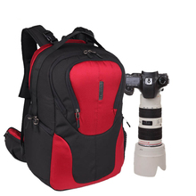 new pattern dslr camera bag backpack video photo bags for camera d3200 d3100 d5200 d7100 small compact camera backpack DSLR Camera Bag Shoulder Backpack Camera Backpack Waterproof Video Photo Bag For Camera Digita Outdoor Backpack 3018