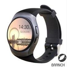 Beste KW18 Smart Uhr Pulsmesser Bluetooth 4,0 Smartwatch MTK2502C Siri & Gestensteuerung Für iOS Andriod kingwear kw18