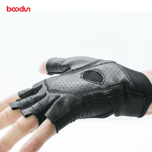 BOODUN Body Building Fitness Gloves Weight Lifting Exercise Sports Gloves Breathable Anti-skid Summer Gym Women Yogo Gloves