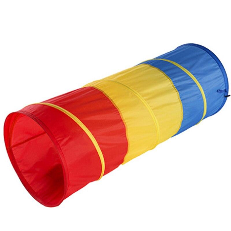 FBIL-jouets pour enfants Tunnel rampant enfants extérieur intérieur jouet Tube bébé jouer ramper jeu garçon fille meilleur cadeau d'anniversaire