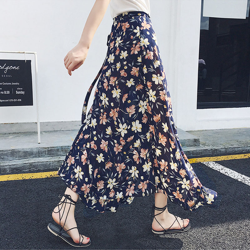 BONJEAN Long Skirt Girl Female Women Skirt for Girls