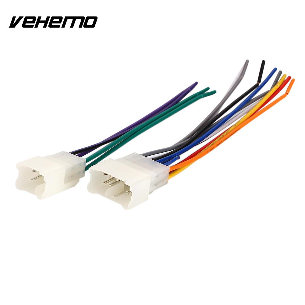 Leewa Car Audio Stereo Wiring Harness Adapter Plug For Toyota Scion Mirror 1987 Up A Aftermarket Radio Durable Iso Wire Auto Adaptor Connector