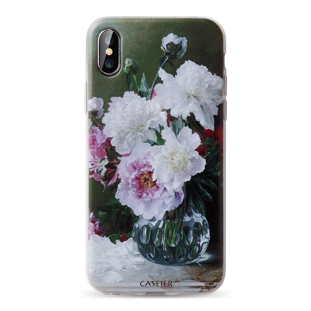 CASEIER Case For Huawei P20 P10 P9 P8 Lite Honor 8 9 P20 Lite Sexy Flower Soft Silicone Black Cases For Huawei P20 P10 Conuqe