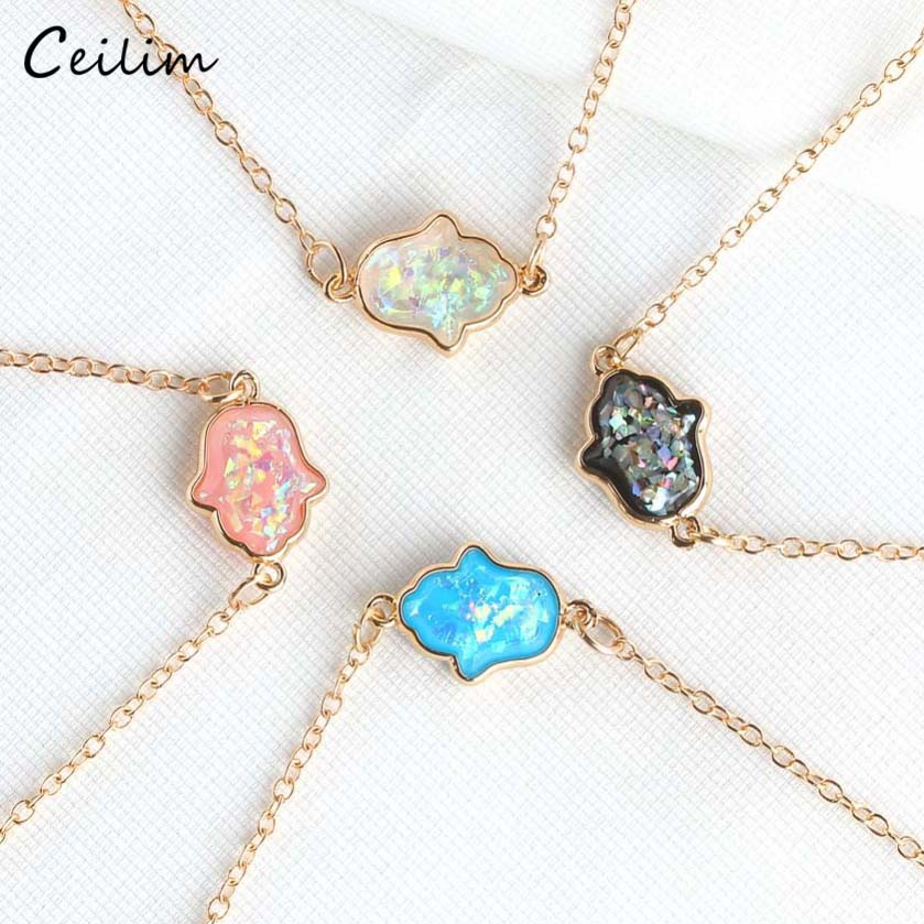1PCS 16-30 in plaqué or Water Wave Chain Collier Accessoires Jewelry Collier