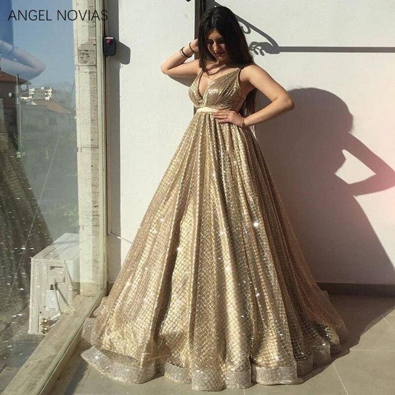 QQ20180726162938. ANGEL NOVIAS Long Sleeves High Neck Orange Evening  Dresses 2018 Moroccan Evening Gowns Women Vestido ... 68e65efec584