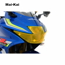 MAIKAI FOR Suzuki GSX-R150 GSX-R 150 GSX-R125 125 2017 motorcycle Headlight Protector Cover Shield Screen Lens