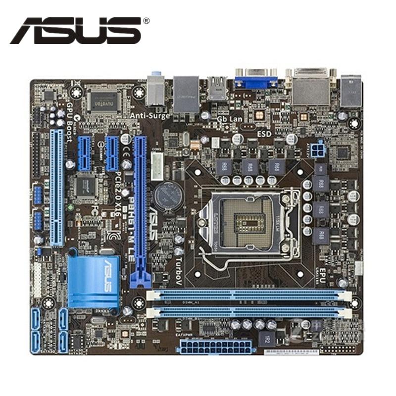 все цены на ASUS P8H61-M LE Original ASUS P8 H61 M PC Motherboard Socket LGA 1155 uATX DDR3 DVI VGA USB2.0 16GB Desktop Computer Mainboard