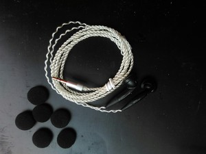 Image 4 - DIY PK2 earphone sound good in ear earphone fever silver plated wire with mic/without mic