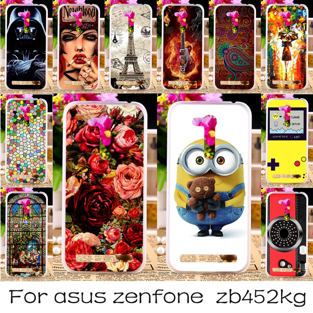 Silicone Back Cover Case For Asus Zenfone GO 2nd Gen