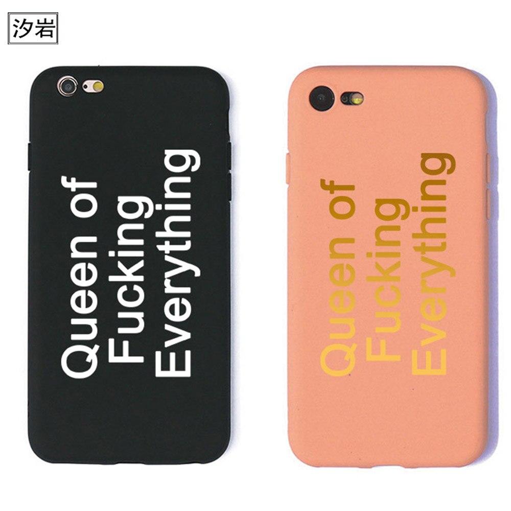 Мягкий силиконовый чехол для телефона Дженнер мать Крис Дженнер королева цитирует розовый чехол для iPhone 6 7 Plus 5 5S se Высокое качество Черный
