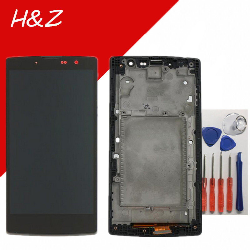 ФОТО For LG G4c H525N Y90 H522y LCD Screen Display Touch  Digitizer With Frame Assembly+Tools