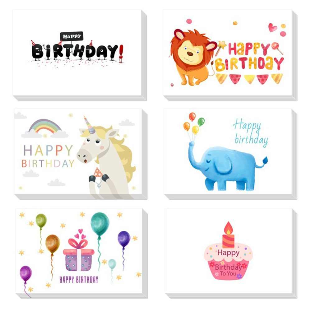 Custom Thank You Cards Bulk Birthday Card For Kids Note With Envelopes Invitations Blank Inside