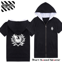 Fate/Apocrypha Fate/stay night ASSASSYN fgo coat fleece With short sleeves with cap sweater cosplay costume