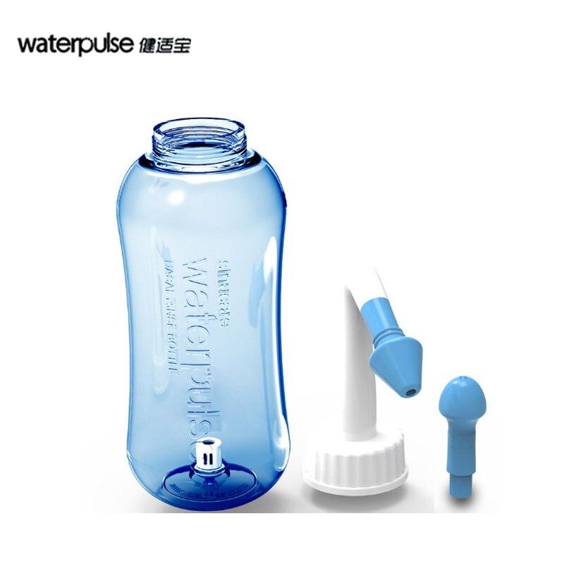 Manual Nasal Rinse Bottle Children Adult Nasal Spray Neti Pot Bottle Nose Cleaner Sinus Nasal Irrigator Aspirator Saline Wash woodyknows ultra breathable nose nasal filters for pollen