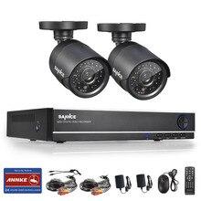 SANNCE 4CH 960 H HDMI ВИДЕОНАБЛЮДЕНИЯ Записи DVR 800TVL Открытый ИК Камеры Системы Безопасности