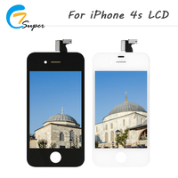 ET Super 20PCS LOT No Dead Pixel For IPhone 4s LCD Screen Touch Screen Digitizer Assembly