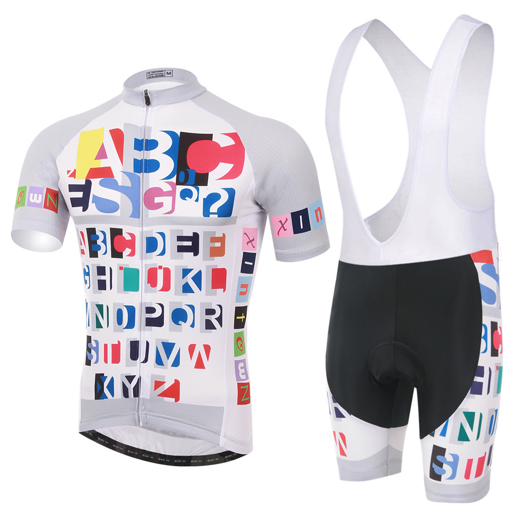 все цены на XINTOWN New Cycling Jersey Short Sleeve Summer Breathable Bib Shorts Bicycle Clothes Quick Dry Roupa Ciclismo Maillot онлайн