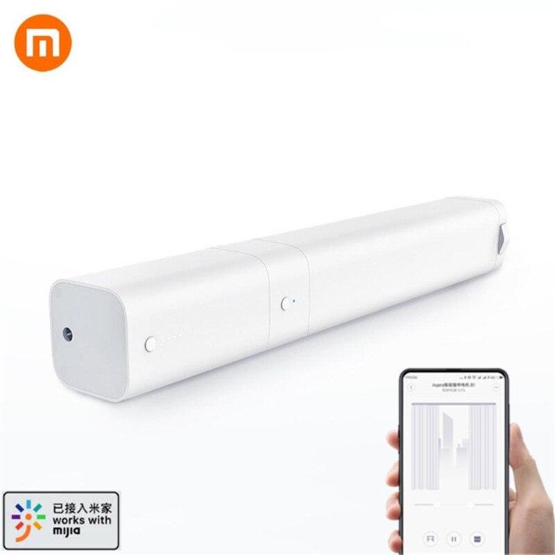 Le plus nouveau Xiaomi AQara B1 télécommande sans fil intelligente motorisée électrique rideau moteur WiFi App commande vocale pour la maison intelligente