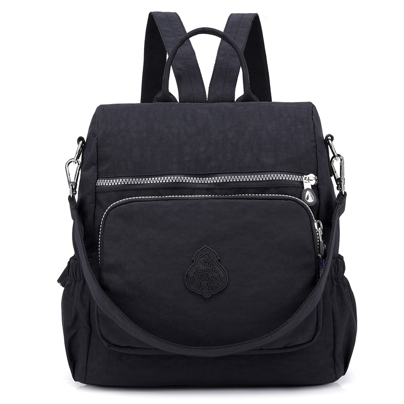 Preppy Style Women Backpack Waterproof Nylon School Bag Lady Womens Rucksack Female Casual Travel Shoulder Bag Mochila FemininaPreppy Style Women Backpack Waterproof Nylon School Bag Lady Womens Rucksack Female Casual Travel Shoulder Bag Mochila Feminina
