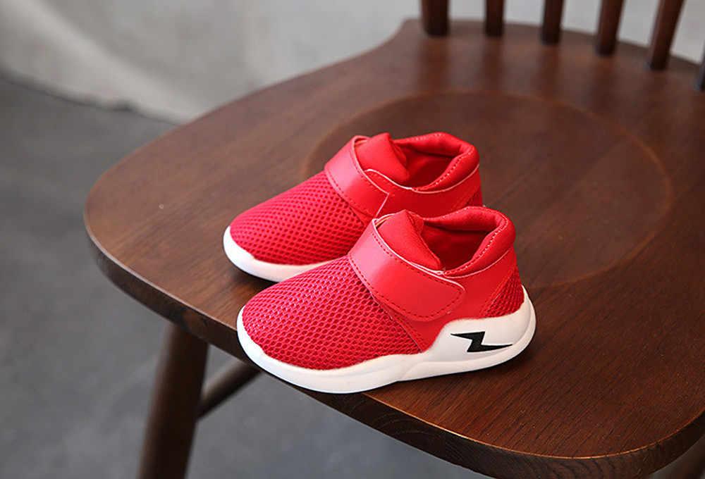 Детская обувь; сезон весна-осень; сетчатая дышащая обувь для мальчиков и девочек; кроссовки; разноцветная детская обувь; белый цвет; tenis infantil