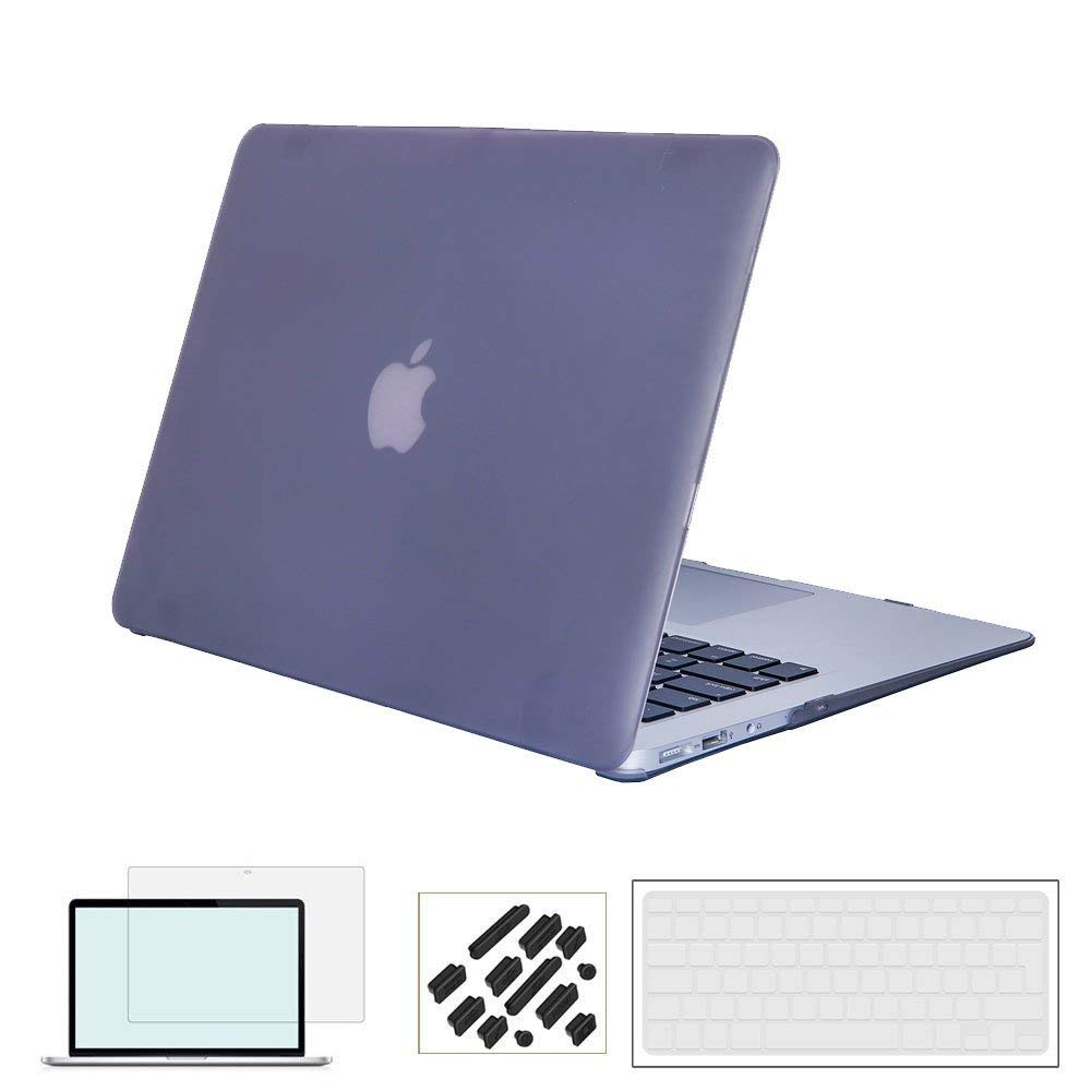 Laptop Case for Macbook Air Pro Retina 11 12 13 15 with EU Layout Clear Keyboard Cover for New Mac Book Pro 13.3 15.4 inch Case