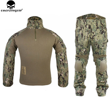 EMERSONGEAR Gen2 Tactical Suit Combat shirt Pants with Knee Pads Hunting Airsoft Paitball Uniform AOR2 EM6924 - discount item  20% OFF Hunting
